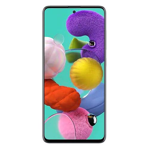 Смартфон SAMSUNG Galaxy A51 128Gb, SM-A515F, белый SM-A515FZWCSER