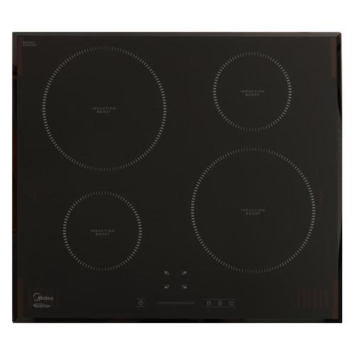 Индукционная варочная панель MIDEA MIH64721F, индукционная, независимая, черный