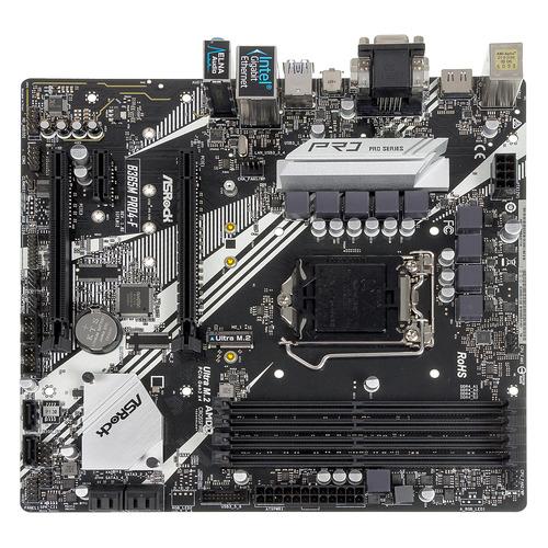 Материнская плата ASROCK B365M PRO4-F, LGA 1151v2, Intel B365, mATX, Ret цена 2017