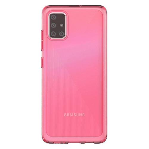 Чехол (клип-кейс) SAMSUNG araree A cover, для Samsung Galaxy A51, красный [gp-fpa515kdarr] чехол клип кейс samsung araree a cover для samsung galaxy a51 синий [gp fpa515kdalr]