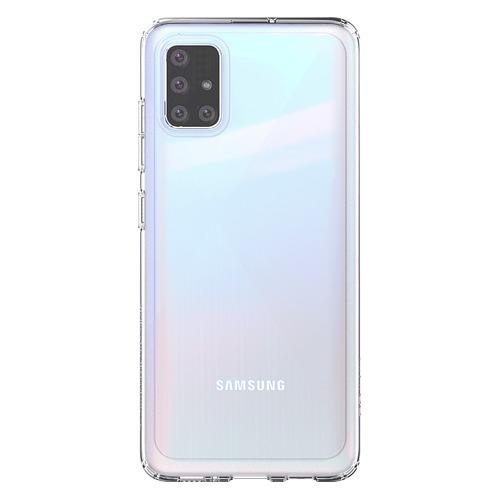 Чехол (клип-кейс) SAMSUNG araree A cover, для Samsung Galaxy A51, прозрачный [gp-fpa515kdatr] чехол клип кейс samsung araree a cover для samsung galaxy a51 синий [gp fpa515kdalr]