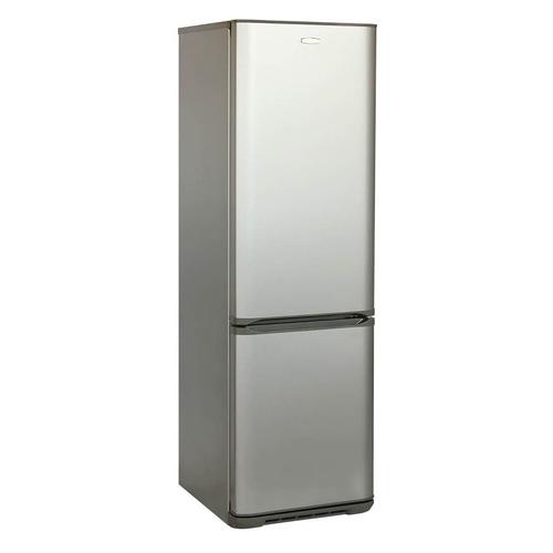 Холодильник БИРЮСА Б-M627, двухкамерный, серебристый металлик холодильник бирюса б m633 двухкамерный серебристый металлик