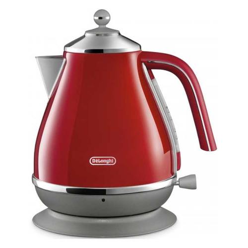 цена на Чайник электрический DELONGHI KBOC2001.R, 2000Вт, красный