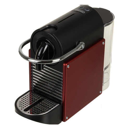 Капсульная кофеварка DELONGHI Nespresso EN124.R, 1260Вт, цвет: красный [132191845] кофемашина капсульная delonghi nespresso pixie en124 r красный