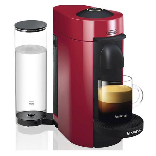 Капсульная кофеварка DELONGHI Nespresso ENV150.R, 1260Вт, цвет: красный [132191926]