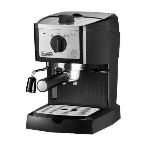 Кофеварка DELONGHI EC157, эспрессо, черный [132104195] кофеварка эспрессо delonghi ecp33 21 r 1100вт красный