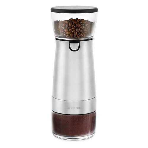 Кофемолка KITFORT KT-723, серебристый
