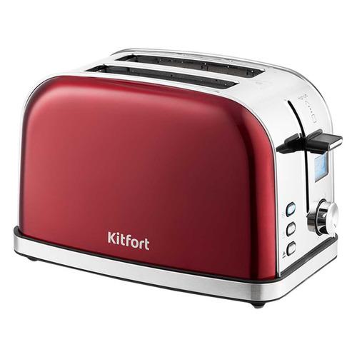 Тостер KITFORT КТ-2036-1, красный