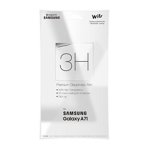 Защитная пленка для экрана SAMSUNG WITS для Samsung Galaxy A71, прозрачная, 1 шт [gp-tfa715wsatr] цена 2017