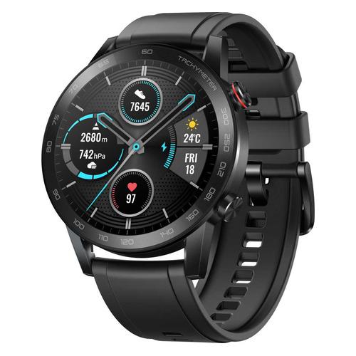 Смарт-часы Honor Watch Magic 2 MNS-B19, 46мм, 1.39, черный / черный [55024945] смарт часы honor watch magic 2 mns b19s 1 39 черный черный [55024945]