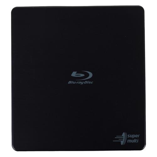 Оптический привод Blu-Ray LG BP55EB40, внешний, USB, черный, RTL