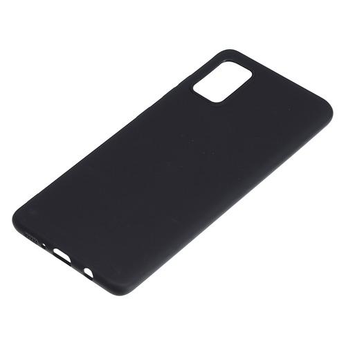 Чехол (клип-кейс) BORASCO для Samsung Galaxy A71, черный [38530]