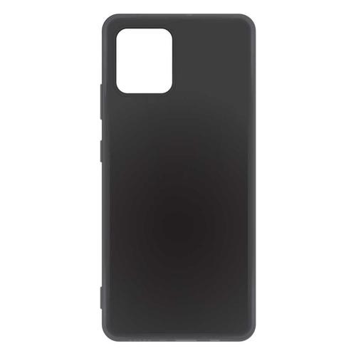 Чехол (клип-кейс) BORASCO для Samsung Galaxy S10 Lite, черный [38531]