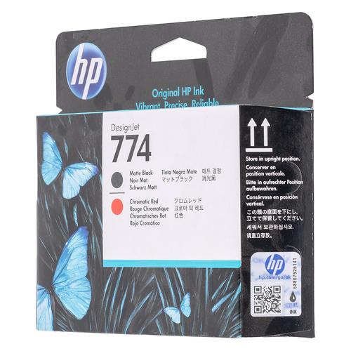 Картридж HP 774, черный / красный / P2V97A