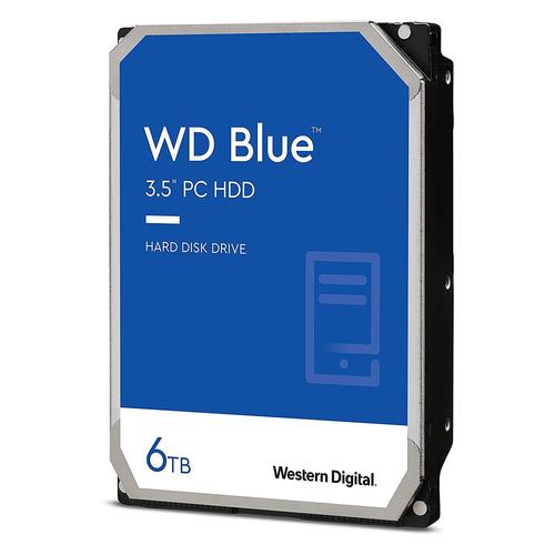 Жесткий диск WD Blue WD60EZAZ, 6ТБ, HDD, SATA III, 3.5
