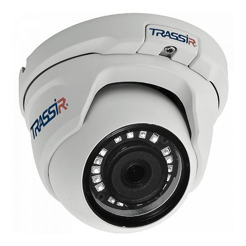 Фото - Видеокамера IP TRASSIR TR-D2S5, 1080p, 3.6 мм, белый видеокамера ip trassir tr d2121ir3 1080p 2 8 мм белый