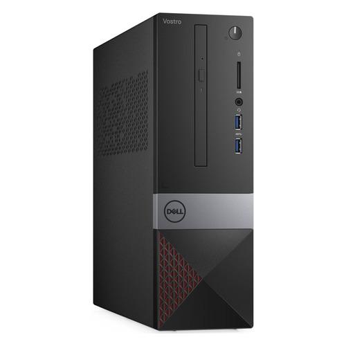 Компьютер DELL Vostro 3471, Intel Core i3 9100, DDR4 4ГБ, 1000ГБ, Intel UHD Graphics 630, DVD-RW, CR, Windows 10 Professional, черный [3471-2332] компьютер