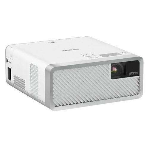 Фото - Проектор EPSON EF-100W бело-серый [v11h914040] кушетка артмебель грация эко кожа бело черный левый