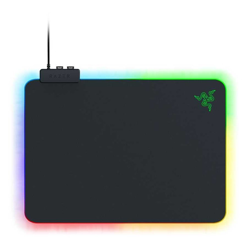 лучшая цена Коврик для мыши RAZER Firefly V2, черный/зеленый [rz02-03020100-r3m1]