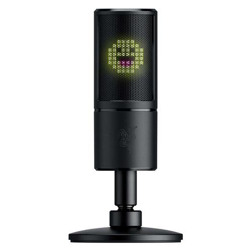 Микрофон RAZER Seiren Emote, черный [rz19-03060100-r3m1] микрофон razer seiren pro rz05 01320100 r3m1 черный