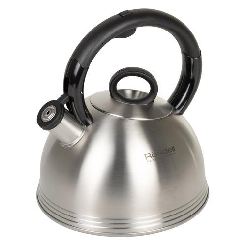 Металлический чайник RONDELL 0237-RD-01, 2.4л, стальной [rds-237] чайник rondell rds 237 rondell чайник rondell rds 237