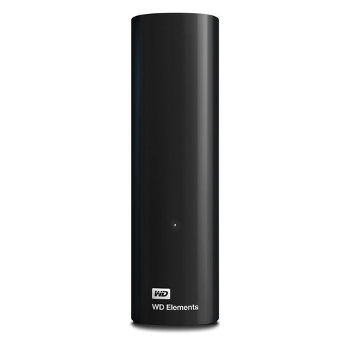 Фото - Внешний жесткий диск WD Elements Desktop WDBWLG0120HBK-EESN, 12ТБ, черный внешний жесткий диск wd my book wdbbgb0040hbk eesn 4тб черный