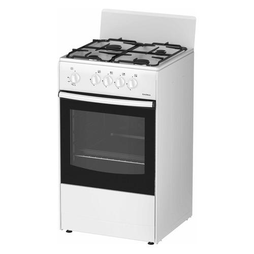 цена на Газовая плита DARINA S GM 441 001 W Т8, газовая духовка, белый