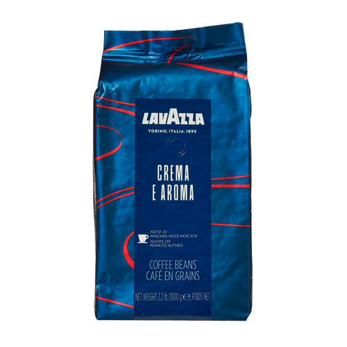 Кофе зерновой LAVAZZA Crema e Aroma Espresso, средняя обжарка, 1000 гр [2490]