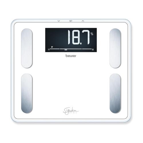 Фото - Напольные весы BEURER BF410 Signature Line, до 200кг, цвет: белый [735.73] весы напольные beurer bf410 чёрный