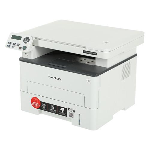 Фото - МФУ лазерный PANTUM M6700DW, A4, лазерный, белый мфу лазерный pantum m6700d a4 лазерный серый