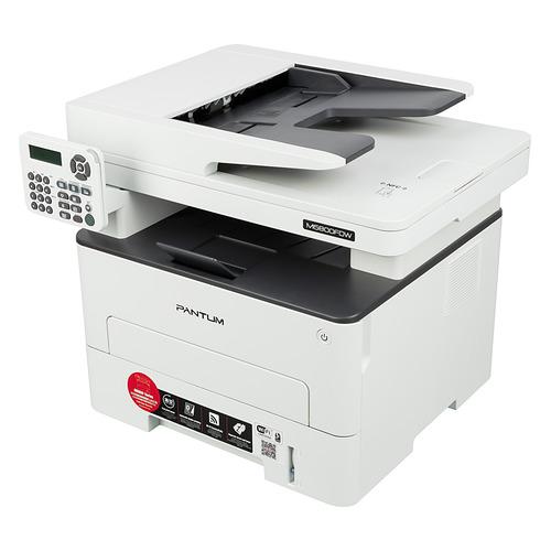 Фото - МФУ лазерный PANTUM M6800FDW, A4, лазерный, белый мфу лазерный pantum m6700d a4 лазерный серый