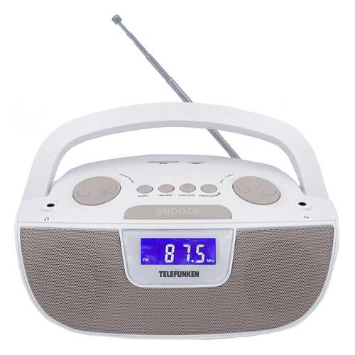 цена на Аудиомагнитола TELEFUNKEN TF-SRP3469, белый