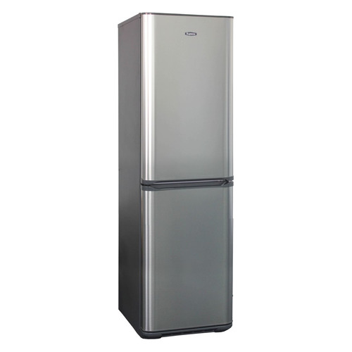 лучшая цена Холодильник БИРЮСА Б-I631, двухкамерный, нержавеющая сталь