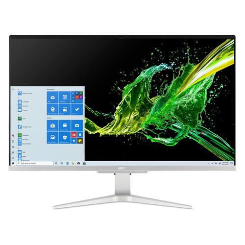 Фото - Моноблок ACER Aspire C27-962, 27, Intel Core i3 1005 G1, 8ГБ, 1000ГБ, 256ГБ SSD, NVIDIA GeForce MX130 - 2048 Мб, Windows 10 Home, серебристый [dq.bdqer.004] моноблок acer aspire c27 962 27 intel core i5 1035g1 8гб 256гб ssd nvidia geforce mx130 2048 мб windows 10 серебристый [dq bdper 00l]