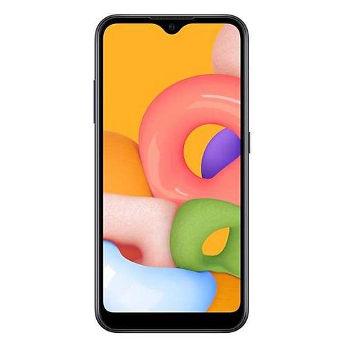 Смартфон SAMSUNG Galaxy A01 16Gb, SM-A015F, черный