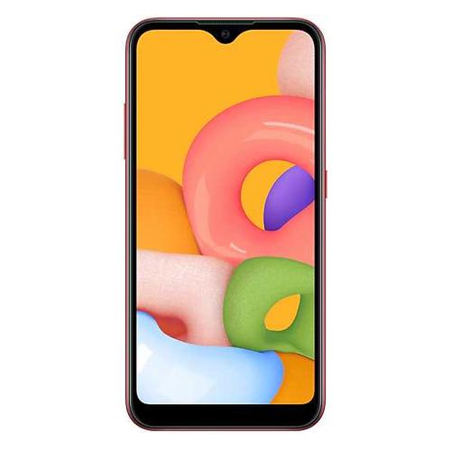 Смартфон SAMSUNG Galaxy A01 16Gb, SM-A015F, красный