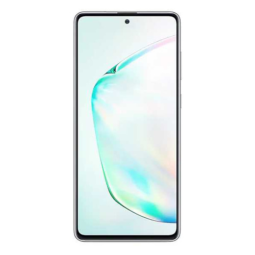 Смартфон SAMSUNG Galaxy Note 10 Lite 128Gb, SM-N770F, серебристый  - купить со скидкой