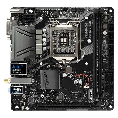 Материнская плата ASROCK B365M-ITX/AC, LGA 1151v2, Intel B365, mini-ITX, Ret