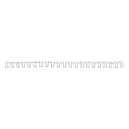 Пружина металлическая GBC MultiBind, 6мм, A4, 100, белый
