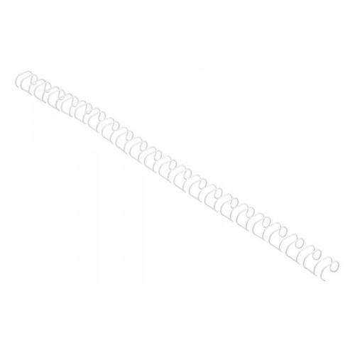 Пружина металлическая GBC MultiBind, 12мм, A4, 100, белый