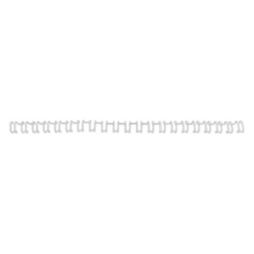 Пружина металлическая GBC MultiBind, 14мм, A4, 100, белый