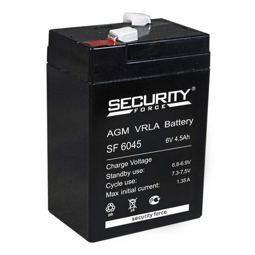 Аккумулятор Security Force SF 6045 аккумулятор
