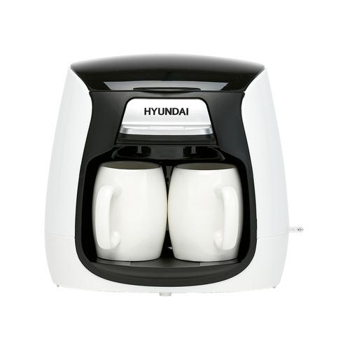 Кофеварка HYUNDAI HYD-0204, капельная, белый