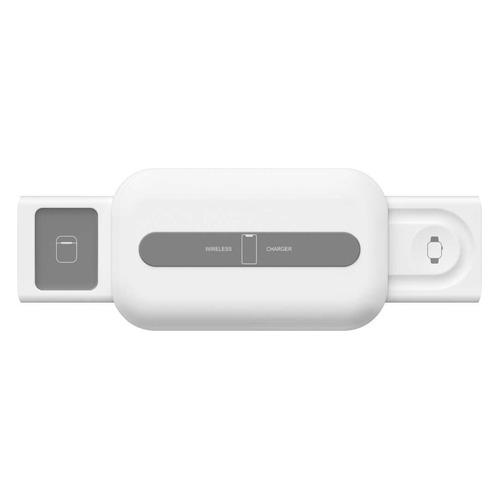 Фото - Беспроводное зарядное устройство Lyambda, USB type-C, 1.5A, белый беспроводное зарядное устройство jia ming wx1 4605180034195 белый