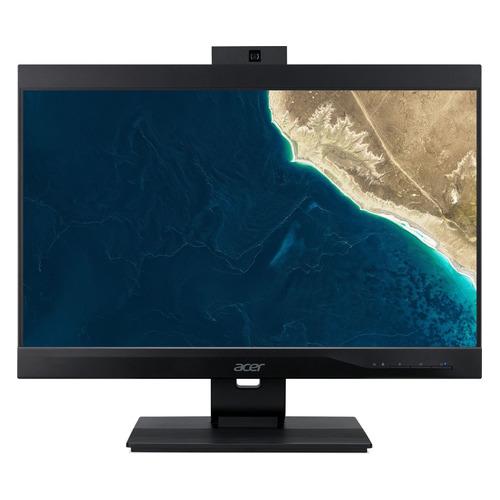 """Моноблок ACER Veriton Z4860G, 23.8"""", Intel Pentium Gold G5420, 4ГБ, 128ГБ SSD, Intel UHD Graphics 630, DVD-RW, Endless, черный [dq.vrzer.154]"""