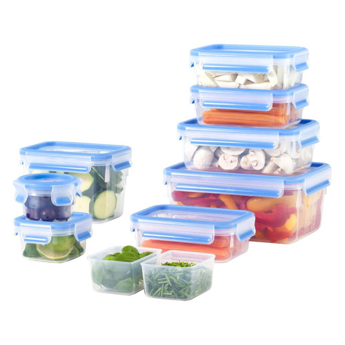 Фото - Набор контейнеров Emsa 515481 1л. пластик белый прозрачный наб.:9пред. (3100515481) хранение продуктов