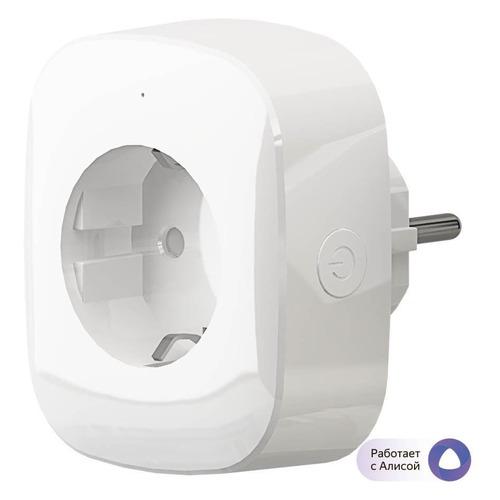 Умная розетка Hiper IoT P03 EU VDE Wi-Fi белый (HI-P03)