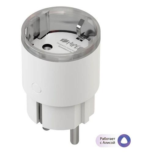 Умная розетка Hiper IoT P04 EU VDE Wi-Fi белый (HI-P04)