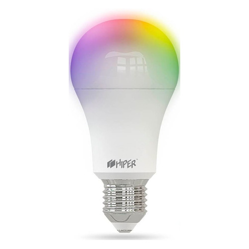 Фото - Умная лампа Hiper IoT A61 RGB E27 12Вт 1020lm Wi-Fi (HI-A61 RGB) a61
