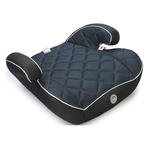 Бустер HAPPY BABY Rider, 2/3, от 3 до 12 лет, синий/черный группа 0 1 2 3 от 0 до 36 кг happy baby unix с подушкой на ремень сплюшка protectionbaby